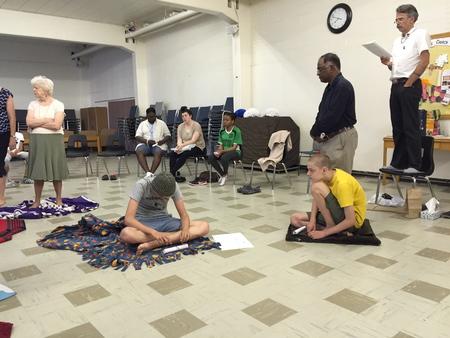KAIROS Blanket Exercise at St. Andrew's