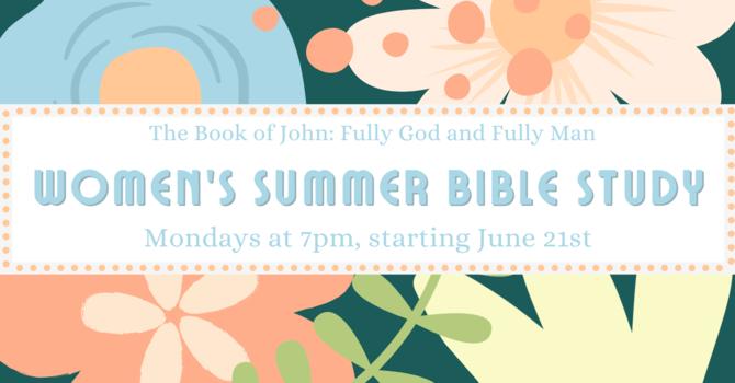 Women's Summer Online Bible Study