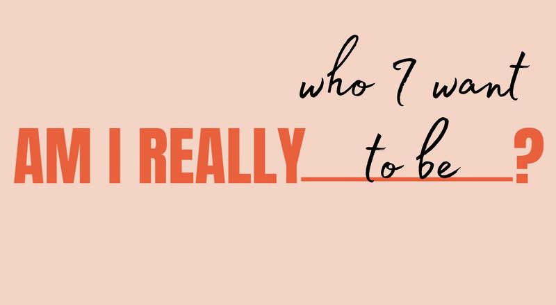 Am I Really___________?