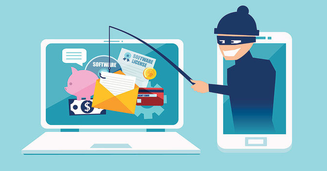 Email Scams - Beware image