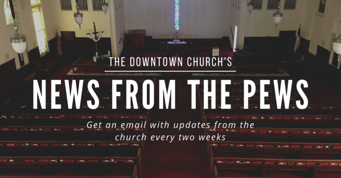 News from the Pews image