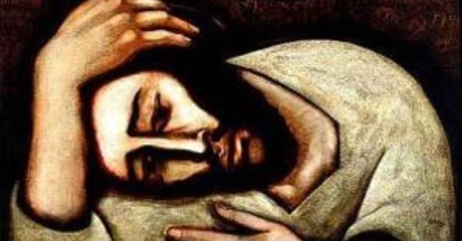Jesus Prays for Us