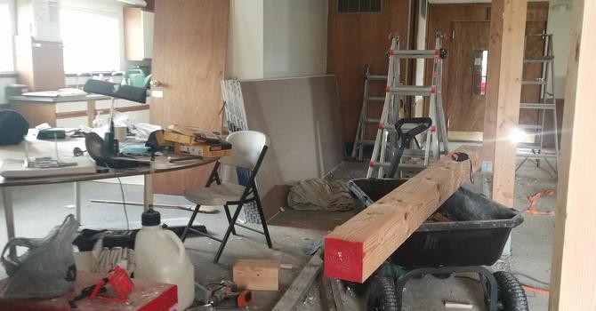Renovation is Underway! image