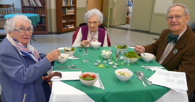 St. Patrick's Day Hot Senior's Lunch Well Attended image