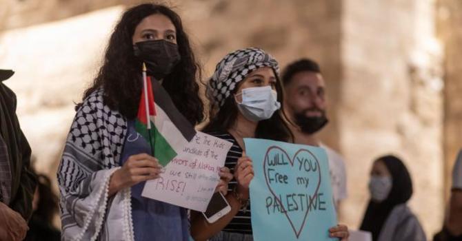 Palestinian Christians urge solidarity this Pentecost image