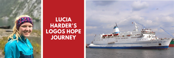 Lucia Harder will be serving onboard the Logos Hope!