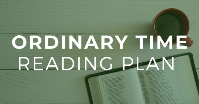 Ordinary Time Bible Reading Plan image