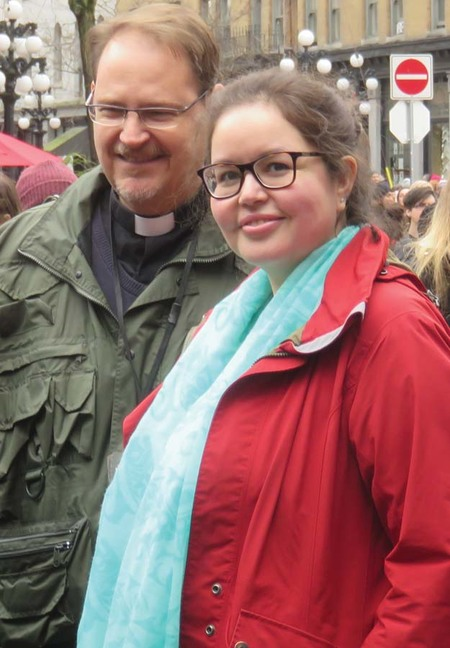 Anglican Presence at the Women's Memorial March