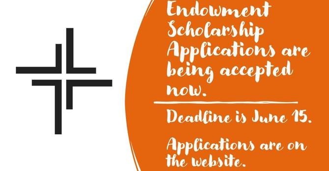 Endowment Scholarships image