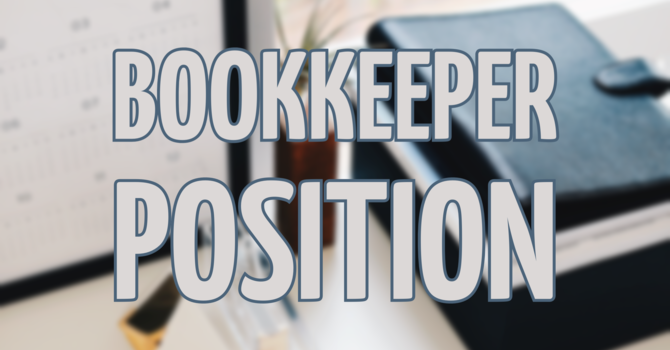 Bookkeeper Position image