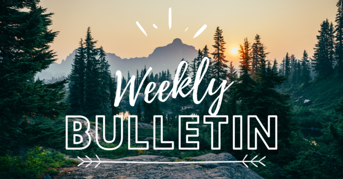 Bulletin | May 23, 2021 image