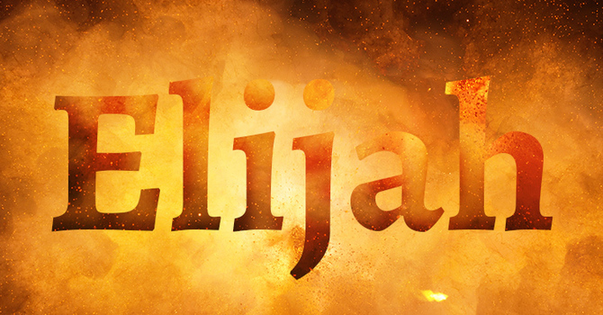 Elijah and the prophets Baal