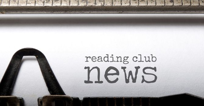 Important dates for Reading Club! image