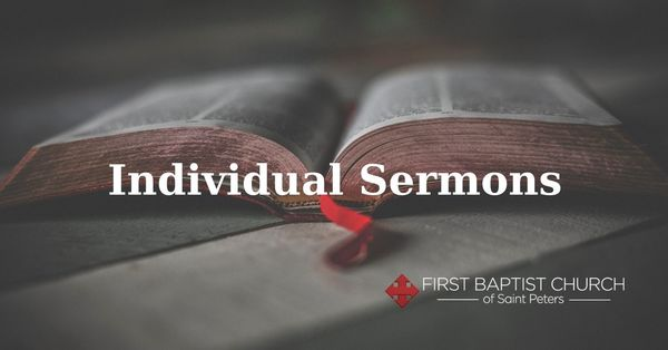 Individual Sermon