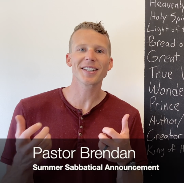 Sabbatical Announcement