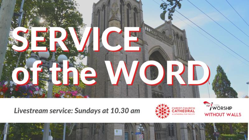 Service of the Word, Trinity Sunday