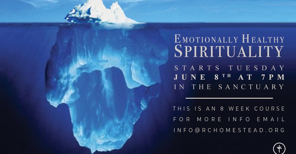 EHS - Emotional Healthy Spirituality