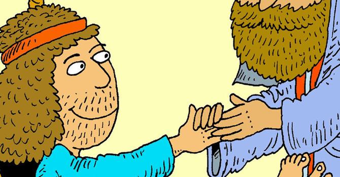 Lesson 5: Jesus Raises Lazarus From The Dead image