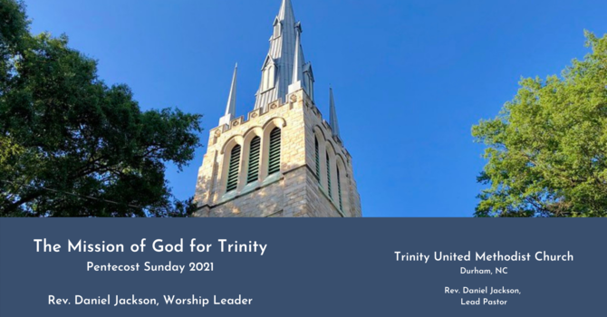 The Mission of God for Trinity