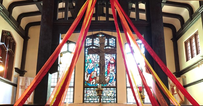 Service Sheet and News for May 23rd, the Feast of Pentecost image