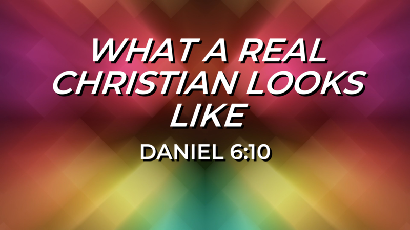 What A Real Christian Looks Like