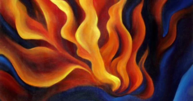 Home Church Pentecost Sunday May 23, 2021 Rev. Karen Hollis image