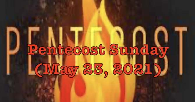 Pentecost 2021 at St Mary's Sorrento image