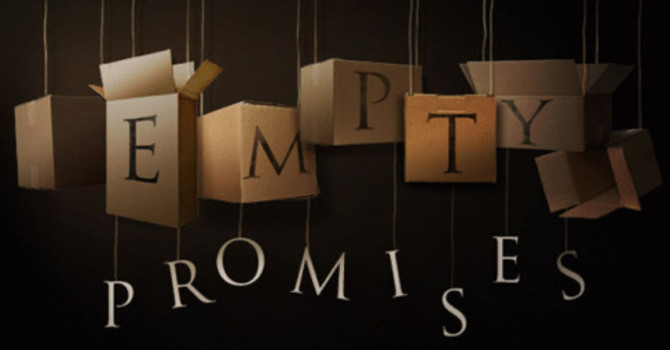 Finding Fulfilment in a World Full of Empty Promises
