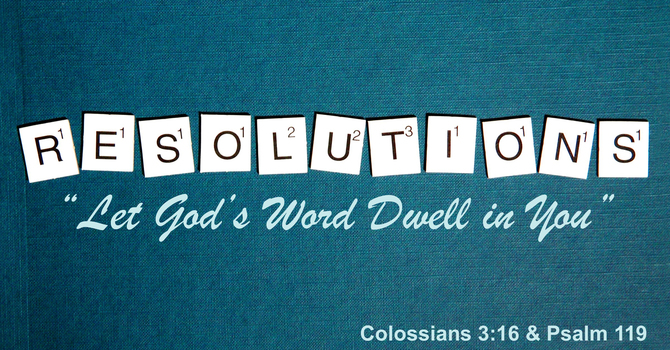 Let God's Word Dwell in You