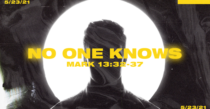 The Gospel of Mark: No One Knows
