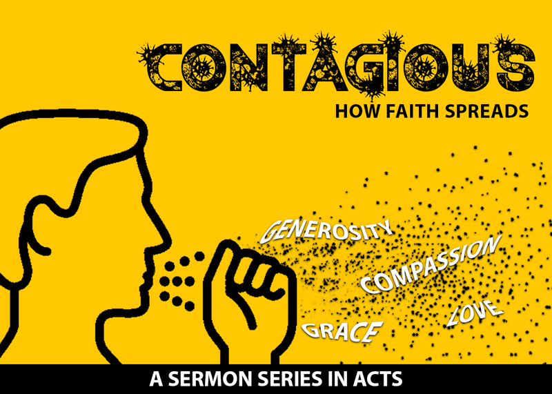 Contagious Faith Cannot Be Contained