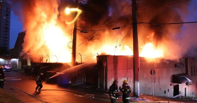 Fire on Church Street image