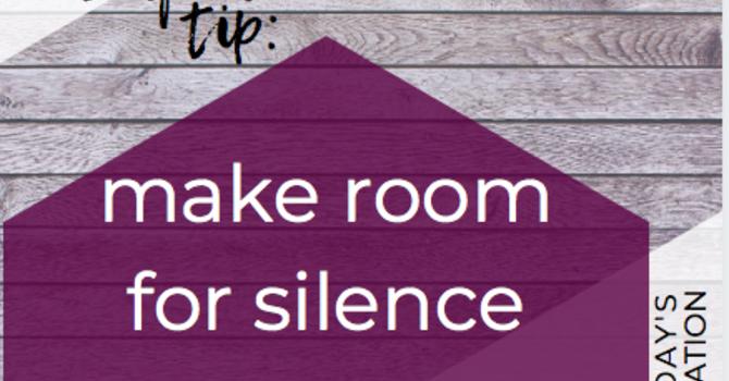 Self Care Tip: image