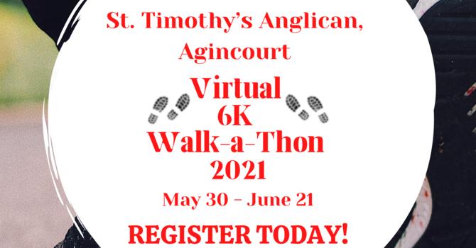 St. Timothy's 6K Walk-a-Thon image