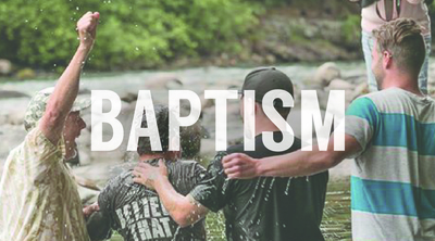 WANT TO BE BAPTIZED?