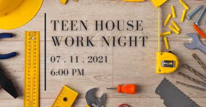 Teen House Work Night