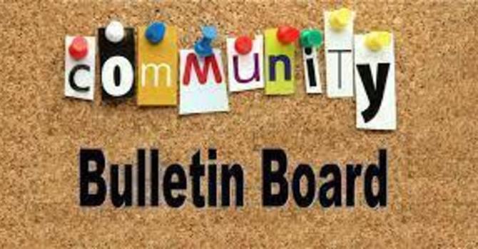 Community Bulletin image