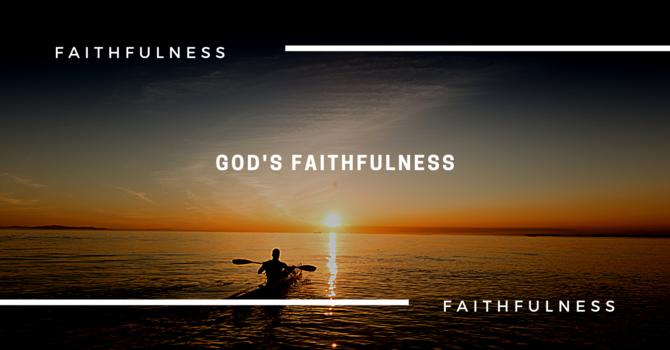 God's Faithfulness