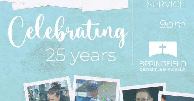 25 Year Celebration Service