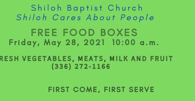 Free Food Boxes image