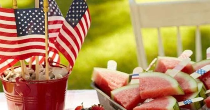 Fourth of July Celebration/Picnic on the Lawn