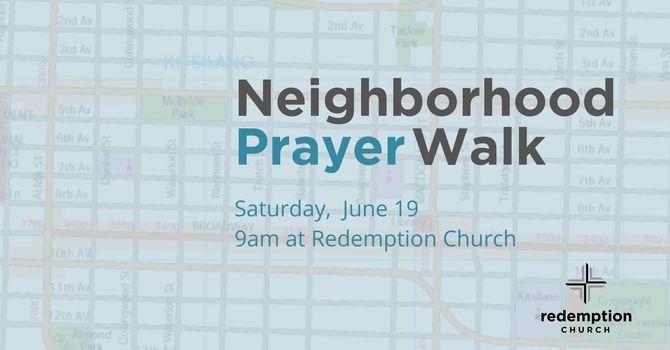 NEIGHBOURHOOD PRAYER WALK