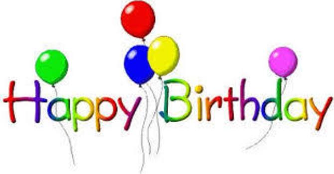 Birthdays and Anniversaries image