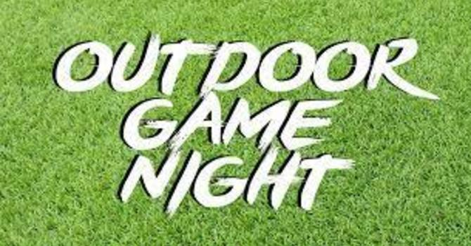 Outdoor Game Night image