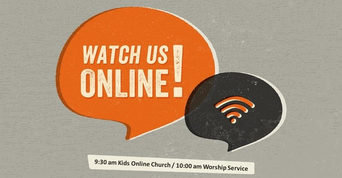Sunday, May 30th Worship Service Announcement image