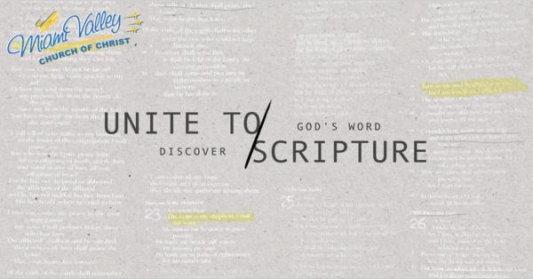 Unite to Scripture Series