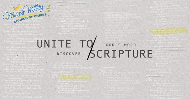 Unite to Scripture