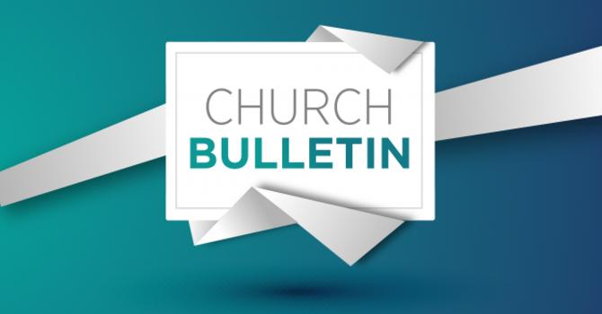 Bulletin 5-30-2021 image