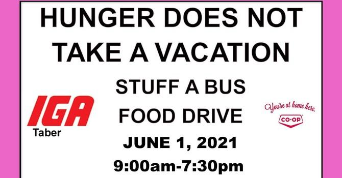 Stuff a Bus Food Drive image
