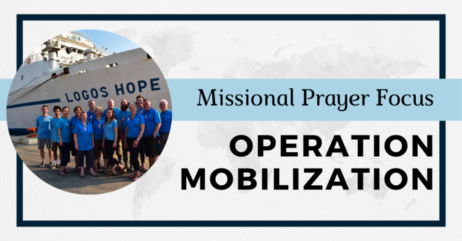 Operation Mobilization and the MV Logos Hope image